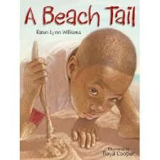 A Beach Tail by Karen Lynn Williams book jacket