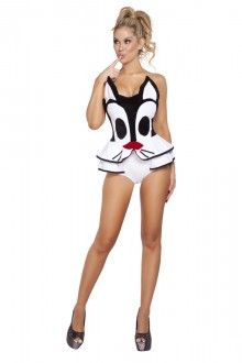 Storybook Playful Pussycat One Piece Costume