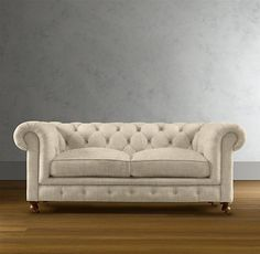 76-Inch Kensington Upholstered Sofa - traditional - sofas - Restoration Hardware