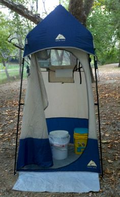 Portable Camping Toilets For Every Camper Go Camping - Closet ideas for tent camping