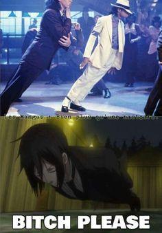 LOL XD Would you rather do it like Michael Jackson or Sebastian ?