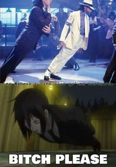 LOL XD  Would you rather do it like Michael Jackson or Sebastian ?