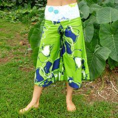 Green Splash Pirouette Pants by Feistyattire on Etsy, $50.00