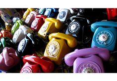 santa lá de casa: Telefones Antigos