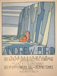 super cool concert posters