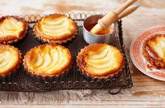Pear and frangipane tarts