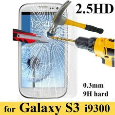 Premium Tempered Glass Film Explosion Proof Screen Protector for Samsung Galaxy Screen Protective Film Samsung Galaxy S3, Cool Electronics, Electronics Projects, Glass Film, Tempered Glass Screen Protector, Protective Cases, Galaxies, Films, Phone Cases