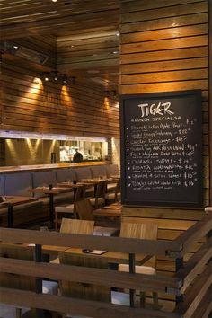 Minimalist Restaurant Design in Beverly Hills