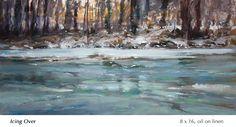 Winter Landscape, Landscape Art, Landscape Paintings, Small Paintings, Large Painting, Impressionist Paintings, Oil Paintings, John Mcdonald, Small Words