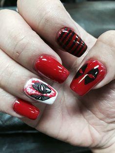 Deadpool nails