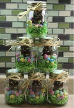 Easter in mason jars, of course!