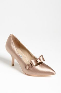 @Becca Lodewyk So cute and vintage! Too bad so much $$$  David Tutera 'Vintage' Pump available at #Nordstrom