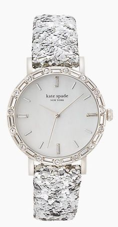 Sparkle watch by kate spade http://rstyle.me/n/szjwbn2bn a watch I would actually wear