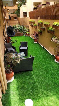 Rooftop Terrace Design, Terrace Decor, Terrace Garden Design, Home Garden Design, Interior Garden, Patio Design, Small Balcony Design, Small Balcony Garden, Small Balcony Decor