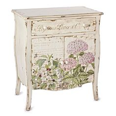 Shabby Stylish is typically a decor form that uses age office funiture and other items to generate a classic look inside the home. Decoupage Furniture, Hand Painted Furniture, Paint Furniture, Repurposed Furniture, Shabby Chic Furniture, Furniture Makeover, Decoupage Box, Diy Vintage, Vintage Shabby Chic