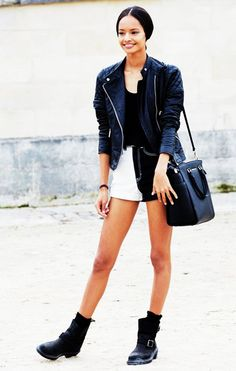 50 Cool Girl–Approved Outfit Ideas via @WhoWhatWear  Malaika Firth