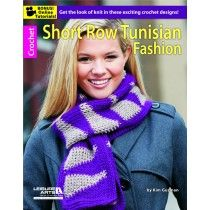 Short Row Tunisian Crochet book via @jessie_athome