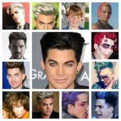 Shades of Adam updated - from white, platinum, ginger to brown and black & several colors inbetween pic.twitter.com/g7cv77j6Mc