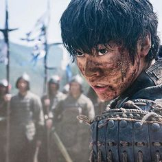 "[Official web site] http://youngjump.jp/kingdom_10th/ Kento Yamazaki as Xin, J LA ""Kingdom""  3 minute video to come April 18th (1pm), J manga ""Kingdom"" 10th anniversary special project, 2016"
