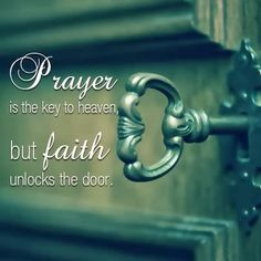 Love this Thought! #Prayer ,faith ... are the words I truly believe in .... I have lots and lots of faith in him.....