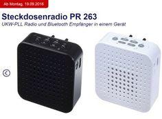"""Aldi-Süd: Steckdosenradio Terris PR 263 mit Bluetooth für 44,95 Euro https://www.discountfan.de/artikel/technik_und_haushalt/aldi-sued-steckdosenradio-terris-pr-263-mit-bluetooth-fuer-44-95-euro.php Ein Steckdosenradio mit Bluetooth, USB- und Aux-In-Anschluss sowie Ladefunktion ist in der kommenden Woche bei Aldi-Süd zum Schnäppchenpreis von 44,95 Euro zu haben. Das """"Terris PR 263"""" kommt bis zu zehn Stunden ohne Strom aus. Aldi-Süd: Steckdosenradio Terris P"""