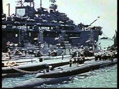World War II Submarine Warfare - Pacific - rare color and B and W footage.