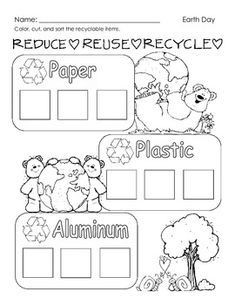 the 3 r 39 s posters and flap book reduce reuse recycle earth day reuse recycle recycling. Black Bedroom Furniture Sets. Home Design Ideas