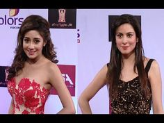 Tina Dutta and Shraddha Arya beautiful at Colors Television Style Awards 2015. http://youtu.be/cC8yDia4qSo #tinadutta #shraddhaarya