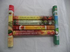 Incense 43405: Hem Tropical Fruit Variety Incense Set 6 X 20 120 Sticks Variety Gift Pack, New -> BUY IT NOW ONLY: $107.49 on eBay!