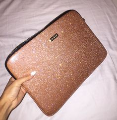"""Rose Gold Laptop Sleeve available only at Embrishop.com available for 13"""" Macbook and any 13"""" or smalled Laptop"""