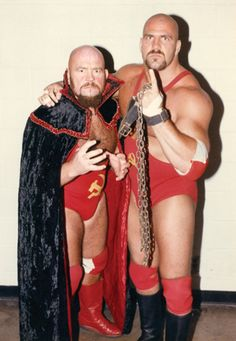 Ivan And Nikita Koloff Pro Wrestling
