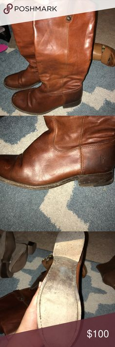 Frye Brown Riding Boots 8.5 Worn but in good condition Frye Shoes