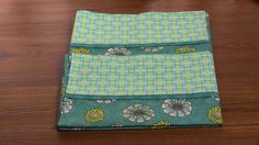 Designer Custom Made Pillow Cases set of two. Standard Size. 100% cotton Premium Fabric by QuiltersBasketShop on Etsy