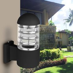 Waterproof Outdoor Lighting Aluminum Glass Lampshade LED Wall Light Fixtures IP65 Wall Lamp E27 Sock-  Item Type: Wall Lamps  Style: Modern  Certification: UL,CE,CCC  Protection Level: IP65  Warranty: 2 Years  Body Material: Aluminum  Finish: Aluminium Baking  Power Source: AC  Usage: Emergency  Base Type: E27  Features: Wall Lamp  Diffuser: Aluminum Alloy  Model Number: Outdoor Lighting  Light Source: LED Bulbs  Is Dimmable: No  Brand Name: LemonBest  Voltage: 85-265V  Is Bulbs Included: No…