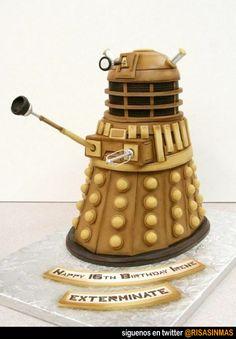 Tartas originales: Dalek.