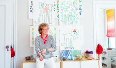 Mary Matson, who designed a series of elephants for our new East Hampton pop-up store, shows us around her (colorful, kooky) Brooklyn studio. Go behind the scenes on jcrew.com/blog.