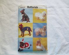 Butterick 6666 Out of print-Big Dog Costumes
