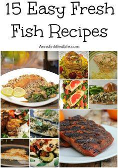 15 Easy Fresh Fish R