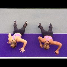 "2,854 gilla-markeringar, 430 kommentarer - TwoBadBodies (@twobadbodies) på Instagram: ""TBB Style Push-ups!"""