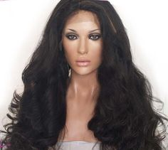 Layered Straight Wave// Indian Remy Hair Full Lace Wig // Part anywhere 18-20 inches!!