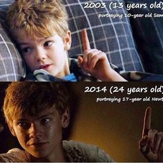 Babeh faced tommeh They got Newt's age wrong. He's 16, not 17.