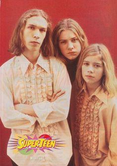 When Hanson was OVER IT. | 25 Times '90s Teen Heartthrobs Photos Failed