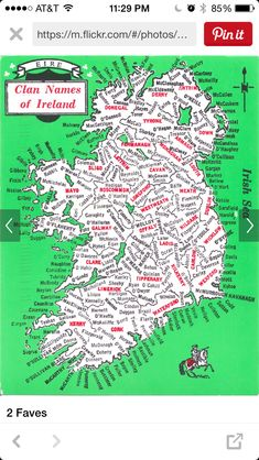 Clan Name so Ireland -- for research of: Thomas Kirker of Tyrone