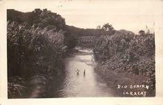 Río Guaire. Caracas, 1900