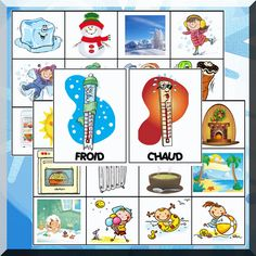 Chaud ou froid ? Grade 2 Science, Petite Section, Grande Section, Gifts For Photographers, Important Facts, Square Photos, Best Memories, Pre School, Creative Gifts