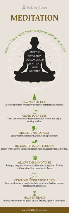 Here are 7 basics steps towards beginner meditation practice.
