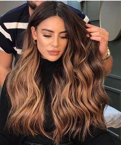 Brown Hair Balayage, Brown Blonde Hair, Light Brown Hair, Blonde Ombre, Brunette Hair, Hair Highlights, Blonde Wig, Color Highlights, Brown Beach Hair
