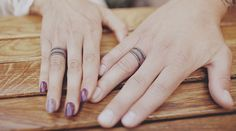 Awesome Wedding Ring Tattoo Ideas - http://www.thegirlsstuff.com/awesome-wedding-ring-tattoo-ideas/