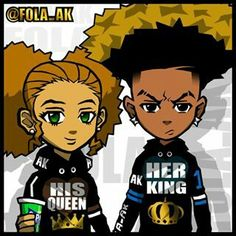 soulja boy coloring pages - riley and huey x bape boondocks pinterest