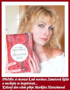 Prezentace deváté knihy Markéty Harasimové, Sametová kůže (vydala JOTA, s.r.o., březen 2014).